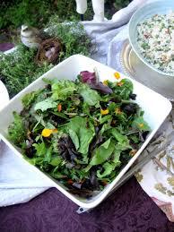Salad With Edible Flowers - edible flowers liz barbour u0027s creative feast