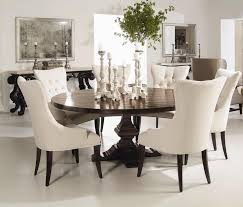 Best  White Round Tables Ideas On Pinterest Round Dinning - Dining room sets round