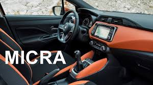 nissan micra 2017 nissan micra interior youtube