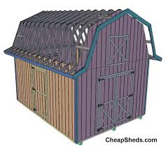 gambrel style gambrel barn style sheds