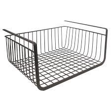 amazon com interdesign york storage bin open basket bronze