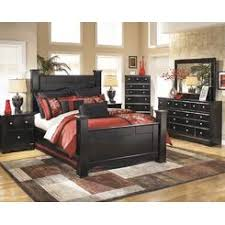 Ashley Furniture Ashley North Shore Poster King Bedroom Set - Ashley north shore bedroom set used