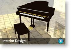 plan3d 3d interior design for home office store and restaurant
