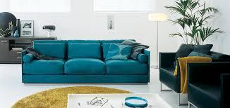 teal blue leather sofa incanto i416 leather sofa neo furniture