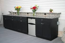Outdoor Kitchen Cabinets Especially For Summer The New Way Home - Outdoor kitchen cabinets polymer