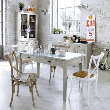cuisines maison du monde table à dîner zinc maisons du monde maison de cagne