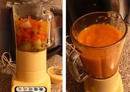 recette de cuisine avec blender soupe aux légumes avec cocotte et blender pour un velouté parfait