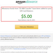 gift cards email set up allowance to automatically charge your bofa better