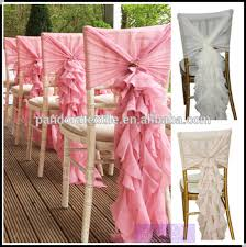 curly willow chair sash fancy chiffon ruffle chair sash curly willow wedding chair covers