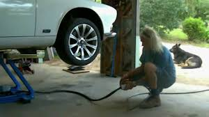 cartar portable lift in home garage youtube