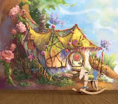 fairies magical fairy house art full wall mural temple webster sku part1292 fairies magical fairy house art full wall mural is also sometimes listed under the following manufacturer numbers fw013l fw013m fw013mini