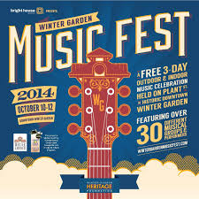 save the date for the winter garden music fest oct 10 12