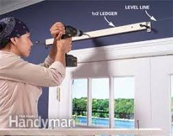 How To Fit Cornice To Ceiling How To Build Window Cornices Family Handyman