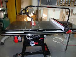 Table Saw Dust Collection by Review Sawstop Dust Collection Blade Guard U0026 Over Arm Dust