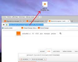 comment mettre un icone sur le bureau résolu icône orange sur le bureau windows10 communauté orange