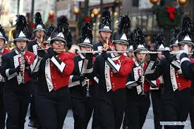 chicago thanksgiving parade unveils tight security xinhua