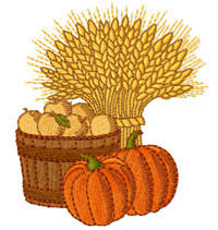 free embroidery design towards thanksgiving