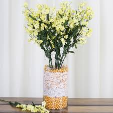 baby breath centerpieces 20 24 bushes baby breath silk filler flowers for wedding