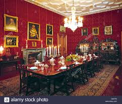 the dining room of the stately home of muckross house killarney