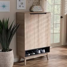 Oak Shoe Storage Cabinet Oak Shoe Storage You U0027ll Love Wayfair