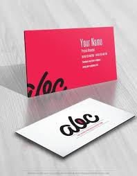 Business Card Template Online Free Exclusive Design Alphabet Handwriting Logo