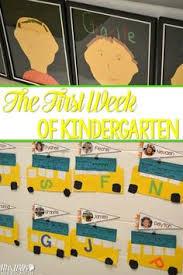 first week of kindergarten activities books and ideas first