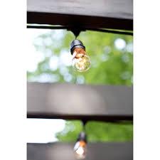 Commercial Grade String Lights by Bulbrite String15 E26 S14kt 48 Ft Outdoor Incandescent String