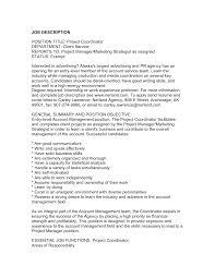 program manager resume cover letter samples unique best retail