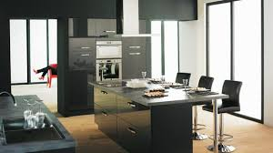 Hauteur Ilot Central by Stunning Ilot Central Avec Coin Repas Photos Home Design Ideas