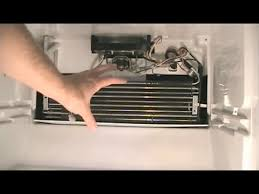 how to replace the defrost thermostat in a refrigerator and