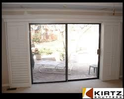 interior sliding door shutters image on brilliant home decor