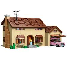 742 Evergreen Terrace Floor Plan Amazon Com Lego Simpsons 71006 The Simpsons House Toys U0026 Games