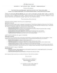 exle resume summary of qualifications sles of resume summary exle of resume summary statements
