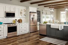 what color appliances look best with cabinets trending new appliance colors in the kitchen