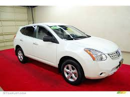 Nissan Rogue 2010 - 2010 phantom white nissan rogue s 360 value package 55658003