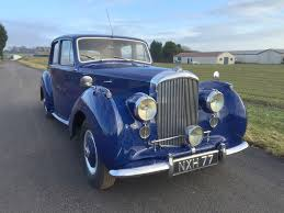 classic bentley 1953 bentley r type being auctioned at barons auctions