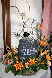 halloween flower arrangement dawn u0027s creations