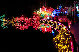christmas lights train ride bright nights in stanley park 2011 a magical ride through a