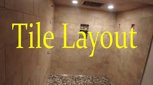 plan floor tile layout how to plan a layout for a tile shower with a running bond pattern