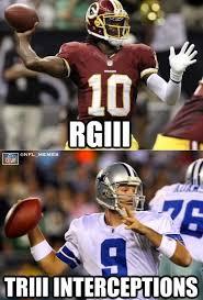 Romo Interception Meme - nfl memes on twitter rgiii tony romo http t co rov1jrbx
