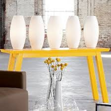 Yellow Console Table Sol Console Table From Cb2 Apartment Therapy