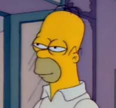 Homer Simpson Meme - homer simpson mid blink the simpsons know your meme