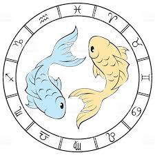 zodiac color color pisces zodiac sign stock vector art 498361321 istock