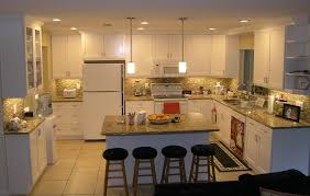 Small U Shaped Kitchen With Island Lovely Small U Shaped Kitchen Traditional With Island Pass