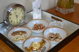 vintage dishes as jewelry storage paths so startled