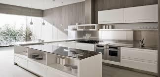 cuisine moderne en u cuisine en u idéale pour les espaces ouverts