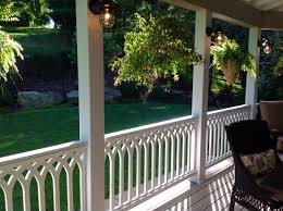 handrails for pvc railing panels the porch companythe porch company