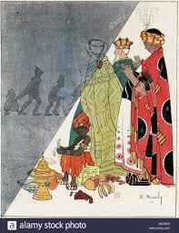 cartoon the three wise men or three kings the original trio