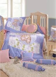 Baby Cot Bedding Sets Buy Swayam Teddy Baby Cot Set 7 Pcs India Best Prices