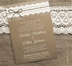 burlap wedding invitations burlap and lace wedding invitation orderecigsjuice info